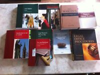 Law Clerk Textbooks (SLC Book List)