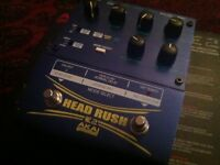 Akai head rush e2 looper delay