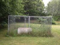 Page wire dog kennel