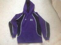 Girls Priory school PE kit and sweatshirt