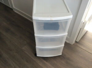 Storage compartments/ organizers