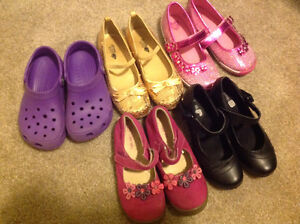Lot of Girls Shoes sized 12/13