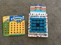Melissa and Doug memory games