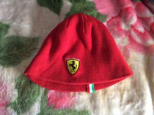 Red Ferrari Winter Toque