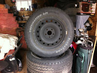 """Dodge Ram 20"""" rims and tires"""