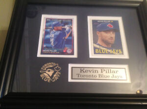 Toronto Blue Jays Framed Baseball Cards Kevin Pillar