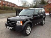Land Rover Discovery 3 2.7TDV6 commercial van black 2008 no vat