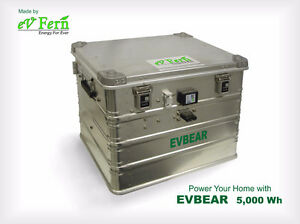 EVBEAR BATTERY - RECHARGED WITH RENEWABLE ENERGY