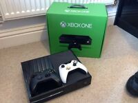 Xbox one perfect condition barely used willing to negotiate price