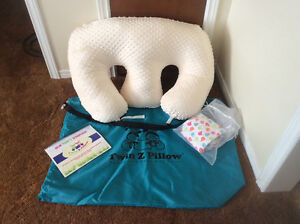 TWIN Z PILLOW, twin nursing pillow and accessories
