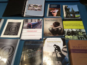 Fanshawe Police Foundations and PSI textbooks