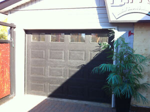 Insulated garage door only 3 years old