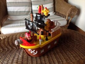 Pirate ship for toddler