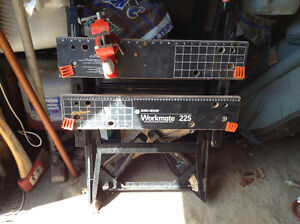 Black and Decker Workmate Folding workbench with vice