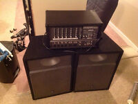 Phonic PA620 plus  with Warfdale Pro speakers V-15