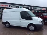 6O REG FORD TRANSIT 2.2 280 SWB MED ROOF AIR CON LOW MILES FSH OPEN 7 DAYS
