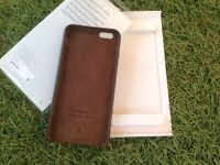 Genuine apple 6s leather case boxed