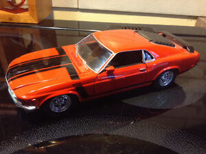WELLY Diecast 1970 Ford Mustang Car Boss 302