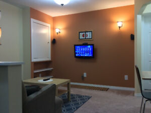 Professionally Furnished Basement Suite Near Calgary AirPort