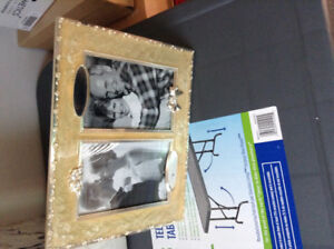 Beautiful silver picture frame
