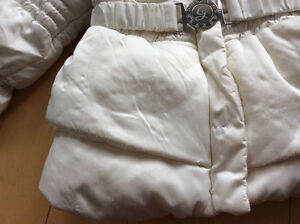 GEOX girls cream down filled jacked size 24 mths London Ontario image 3