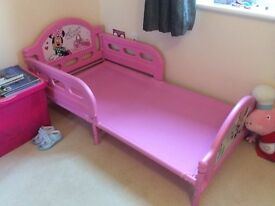Girls Mini Mouse Bed