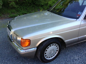 Mint condition Mercedes 420 SEL for TRADE