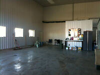 Brand New Heated Shop For Rent For Storage