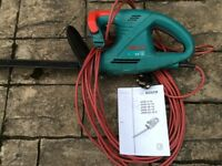 BOSCH ELECTRIC HEDGE CUTTER AHS 42-16, 42cm USED