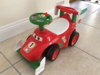 Disney Francesco Ride on Racer Red Car