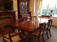 Solid Mahogany Wood Dining Furniture