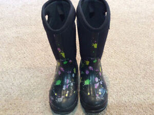 Bogs Winter Boots - Girl's size 3 - Excellent Condition