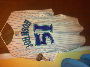 Arizona diamondbacks mlb 2001 jersey randy johnson 2xl