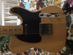 Squire Classic Vibe Tele; Vintage Modified Strat