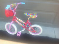 Girls 12.5 inch bike