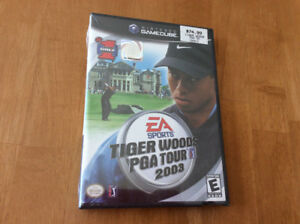 "Tiger Woods ""PGA TOUR 2003"" (Nintendo GC) - still new \ sealed"