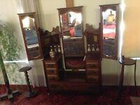 Antique Edwardian 3pce Bdrm set