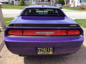 Rare Purple 2010 Dodge Challenger SRT
