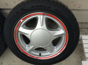 Fox Body Pony Rims with Good Year Eagle GT tires Regina Regina Area image 5