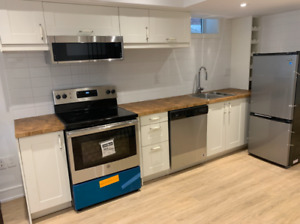 New Renovated Basement Apartment for rent
