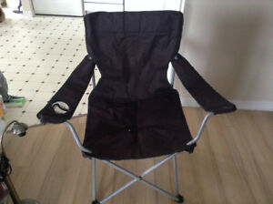 2 camping chairs - Black