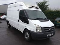58 ford transit 2.2tdci 110ps t350 HR LWB fridge van no vat 12 months warranty