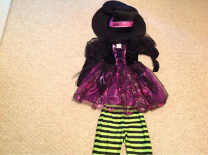Witch Costume Size 5