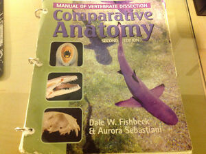 Trent text. Dissection manual for BIOL 2110H Peterborough Peterborough Area image 1