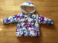 Little girls winter coat from Old Navy size 18-24 months