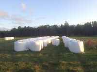 WRAPPED Hard Core 4x4 Round Bales for sale from ADHS