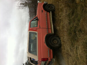 1992 Ford Bronco xlt SUV, Crossover