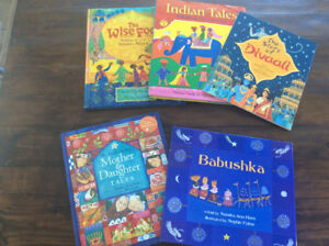 Lot 5 English books (Barefoot Book)