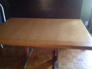 Crate Design solid wood Dining Table.  Excellent condition.