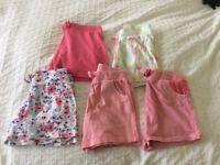 Girls Shorts Bundle 2-3yrs